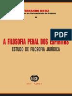 A Filosofia Penal Dos Espíritas (Fernando Ortiz)