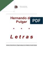 Hernando Del Pulgar - Letras