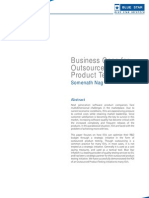 Business Case for Outsourcing Product Testing