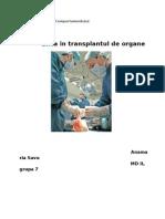 Etica Transplantului de Organ