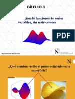 Clase 6_Optimización Sin Restricciones-Cal 3