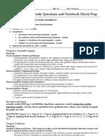 semester exam study questionsnotebookrequirements-physci