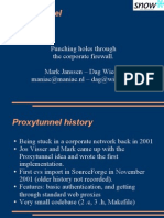 Proxytunnel Slides Froscon 2008
