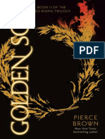 Golden Son by Pierce Brown, 50 Page Fridays