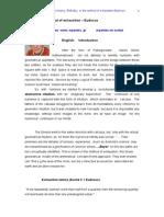 Αρχή της εξάντλησης-Εύδοξος or Principle of exhaustion-Eudoxus