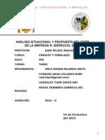 Análisis Situacional y Propuesta Del Enem de La Empresa r. Berrocal s.a.c