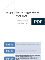 Supply Chain Management at WAL-MART (1)