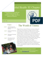 Timmy Global Health Summer Newsletter