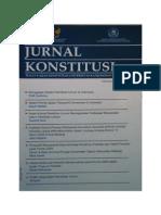Ejurnal_Jurnal Konstitusi KANJURUHAN Vol 2 No 1