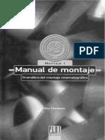 Thompson Roy - Manual de Montaje Cinematografico