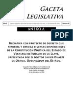 Reforma político-electoral de Javier Duarte de Ochoa