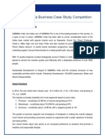 SABMiller India Business Case Study Competition