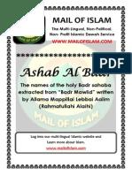 Ashab Al Badr