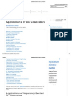 Applications of DC Generators _ Electrical4u