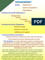 Geo Geral 2004 3 - Ciclo das rochas e sedimentares.ppt