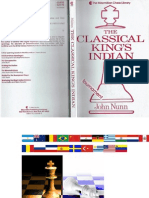 The Classical King's Indian - Nunn, John