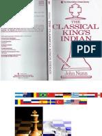 The Classical King's Indian - Nunn, John