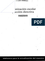 Organización escolar y acción directiva