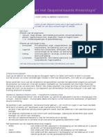 Factsheet Stressmanagement met Gespecialiseerde Kinesiologie