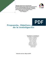 Propuesta, Objetivos y Metas 2014