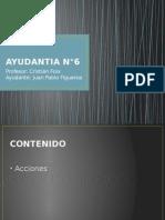 AYUDANTIA N°6