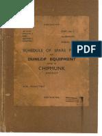 AP4515C Vol3 Pt1 Sec2 Ch2 DUNLOP Chipmunk Equipment