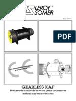Motores de Corriente Alterna Para Ascensores Instalacion y Mantenimiento