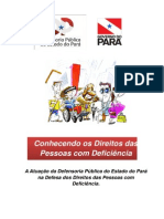Cartilha Direitos Deficiencia Defensoria Publica