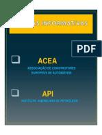 Tabla de Clasificaciones API-ACEA
