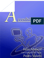 Accesibilidad Julio Abascal