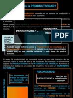 2. Definición y Factores de La Productividad