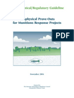 Geophysical Prove Outs