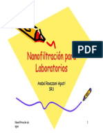 Nanofiltración Para Laboratorios