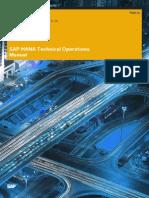 Sap Hana Technical Operations Manual En