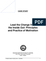 Lead the Change From Inside Out by Faiez H Seyal