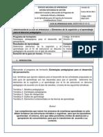 Guía Aprendizaje 1_Elementos de La Cognición y El Aprendizaje Para El Discurso Pedagógico(1)