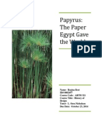 papyrus ancient egypt paper sten