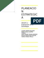PLANEACION ESTRATÉGICA CONCEPTOS Y APLICACION