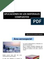 CLASE 14.- Aplicaciones de Los Materiales Compuestos