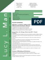 multimedia resume