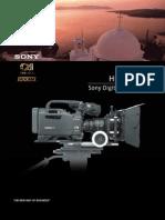 Sony HDW-F900R Broch