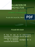Flujo de Caja (Evaluación de Proyectos)