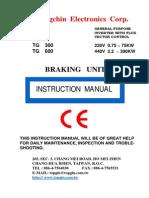 Brake Unit Instruction Manual