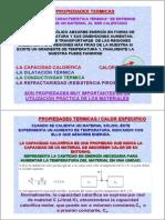 Tema2.MaterialesCONSTRUCCION.propiedadesTERMICAS.2009.2010.Ppt