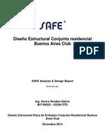 Reporte Programa Safe