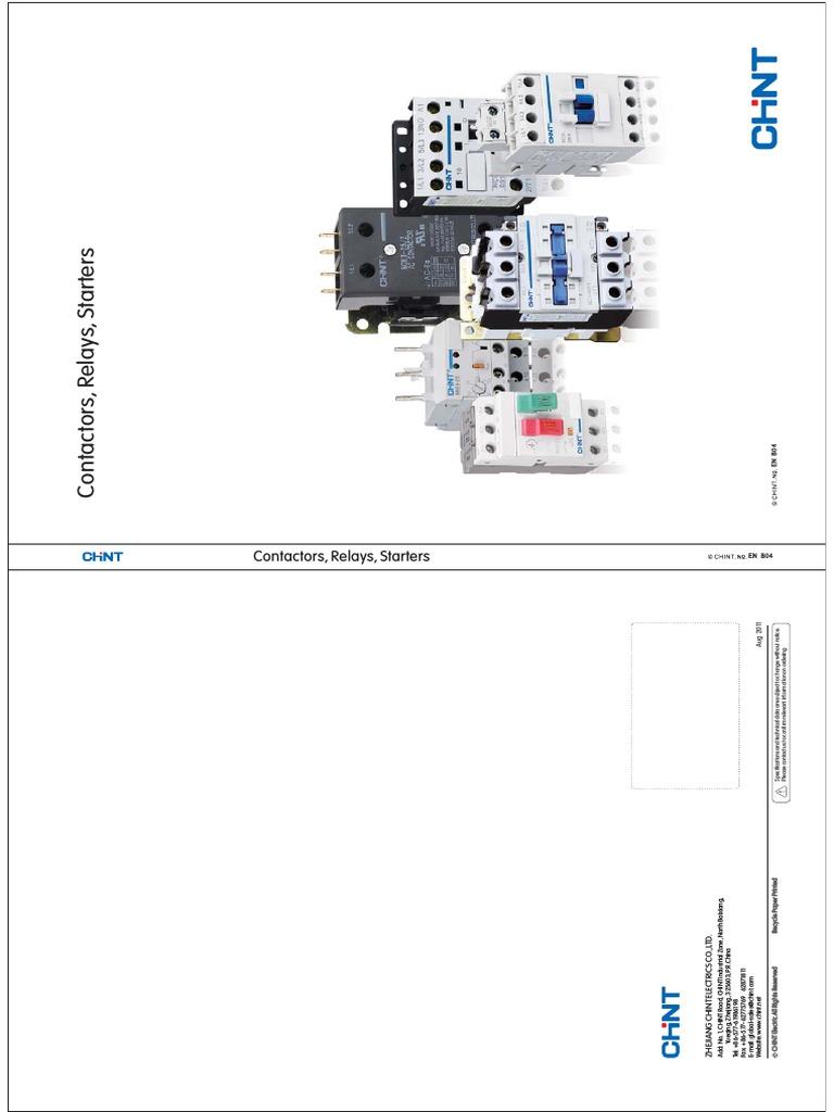 3 Main 415V 1 N//C Aux 18 A Chint NC1-1801-415V General Contactor AC3