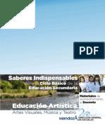 Saberes Basicos Artes 2013
