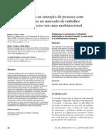 Inclusão Social-4(1)2010-Os Desafios Na Insercao de Pessoas Com Deficiencia No Mercado de Trabalho- Estudo de Caso Em Uma Multinacional