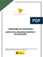 DOSSIER VALORACIÓN DISCAPACIDAD Y S. DE ASPERGER