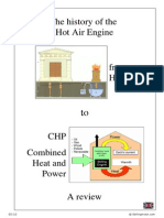 The History of the Hot Air Engine - From Heron to CHP - A Review